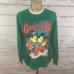VTG Mickey & Minnie Mouse Sweatshirt